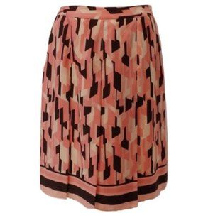 INC Silk Pleated Fully Lined Skirt- Sz. 8